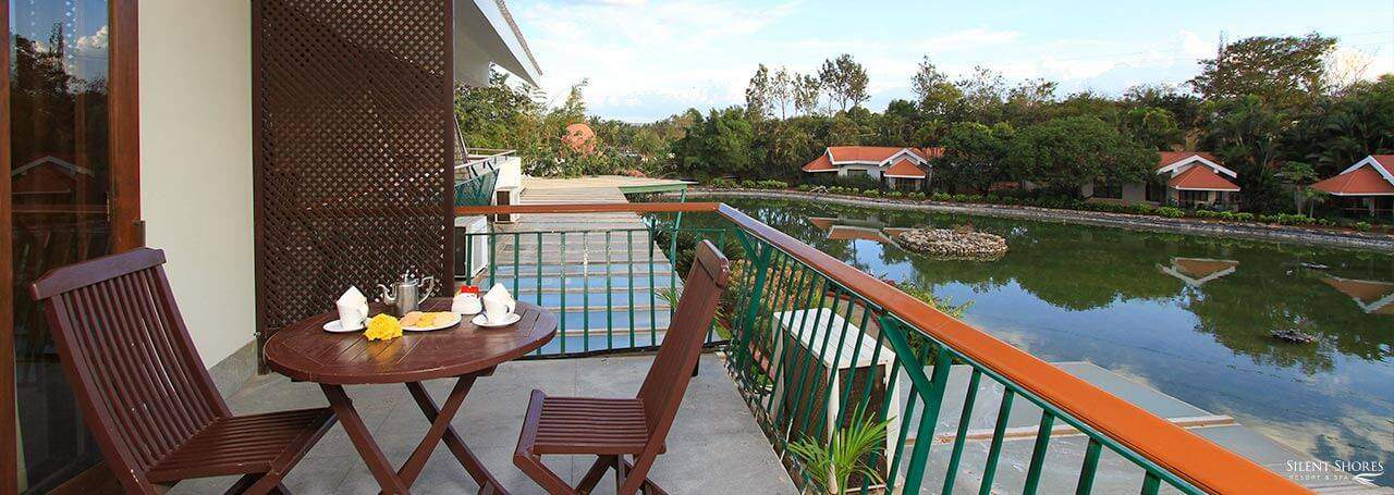Duplex room, suite balcony by the lake - best hotel room in mysore - luxury rooms in mysore